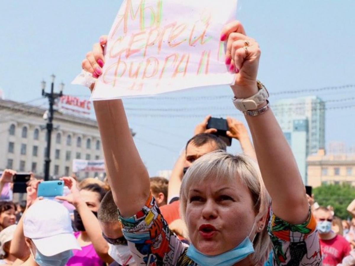 """""""Кремль уже не сможет сдержать россиян, просто арест в Хабаровске стал последней каплей"""", - блогер"""