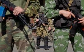 В Донецке неизвестные похитили оружие подразделения «Грифон»