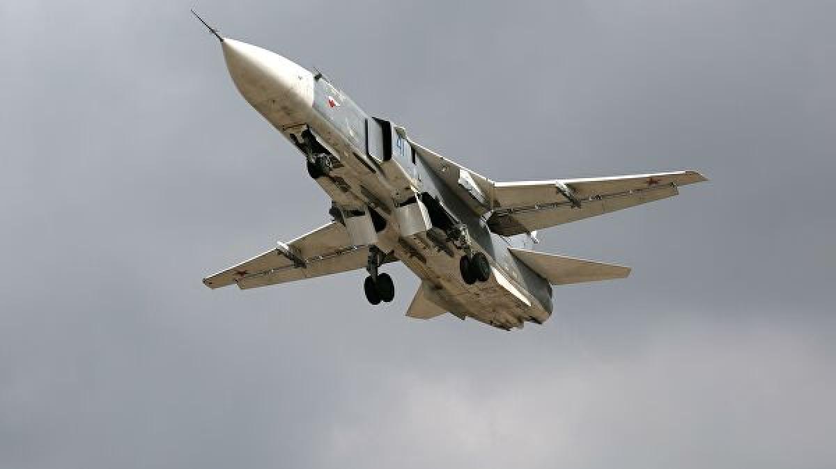 В Сирии с турецких позиций выпустили ракету ПЗРК по российскому бомбардировщику: видео