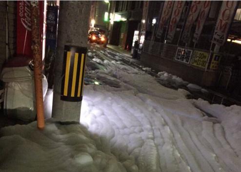 Эксперты о последствиях землетрясений в Японии: разгадана тайна происхождения неизвестной пены на улицах города Фукуока