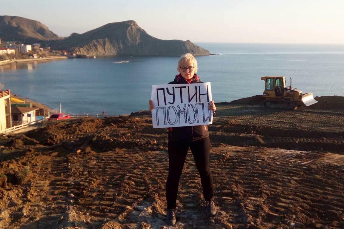 В Крыму Россия сравняла с землей целый поселок у моря - люди взывают к Путину, но их не слышат