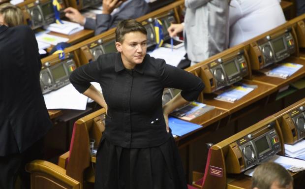 Савченко сделала предложение Зеленскому: скандальный депутат претендует на очень высокий пост