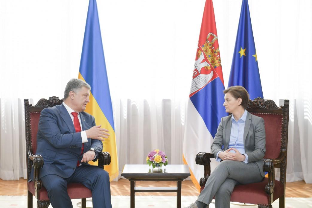 Петр Порошенко встретился с сербским премьер-министром: стало известно, о чем договорились стороны