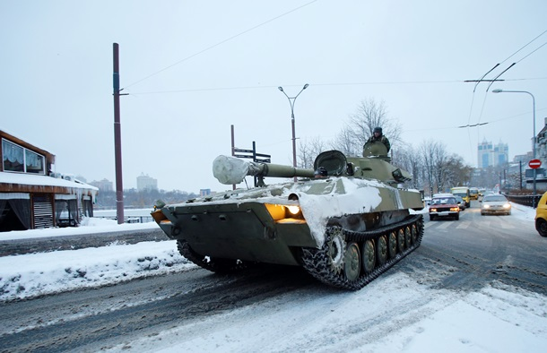 ОБСЕ зафиксировала движение военной техники без опознавательных знаков в Донецке