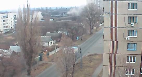 В Авдеевке во время обстрела пострадали жилые дома