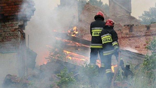 На границе Польши и Германии прогремел мощнейший взрыв, в результате которого пострадали восемь человек