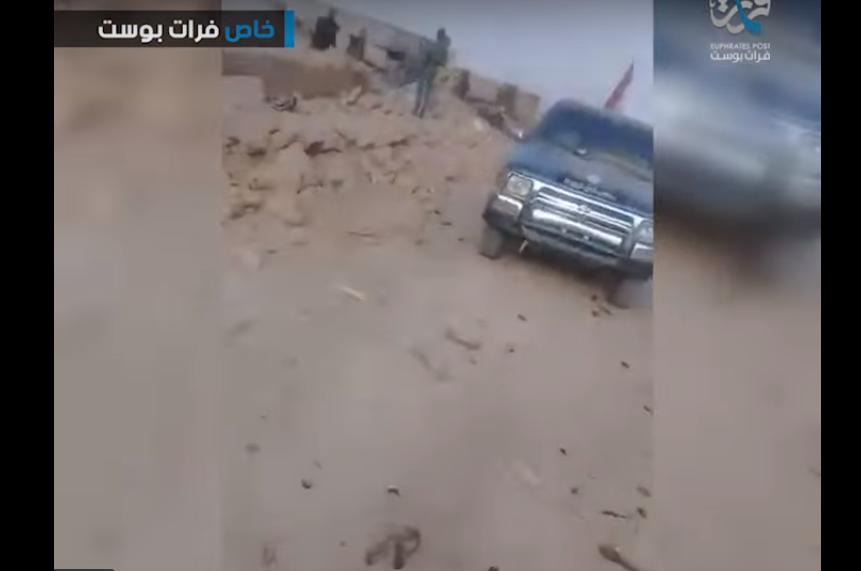 Разгром российских военных армией США в Сирии: курды показали последствия удара американцев по колонне
