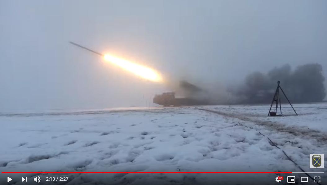 """ВСУ отработали на Донбассе удар """"Смерчами"""" по границе: командующий ООС лично отдал приказ - появилось видео"""