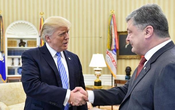 """""""Материалы, которые доказывают присутствие России на Донбассе"""", - Порошенко рассказал о том, что он передал Трампу во время визита в Вашингтон"""
