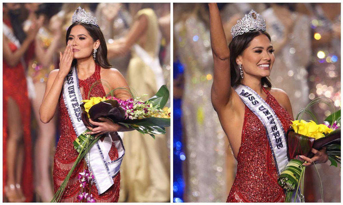 """Красота и грация: победительница """"Мисс Вселенная 2021"""" из Мексики Андреа Меза затмила участниц из 73 стран"""