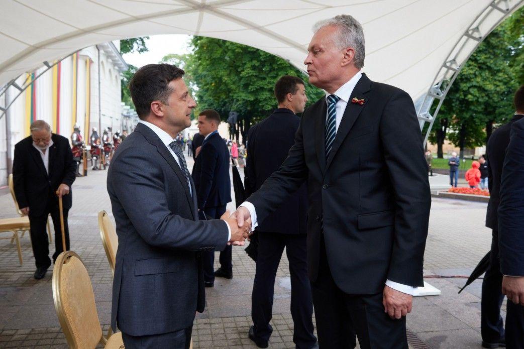 Зеленский и президент Литвы Науседа настояли на четких планах для Украины из-за вступления в ЕС и НАТО