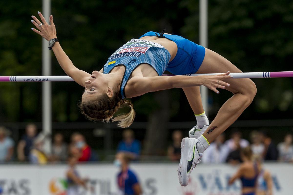 Украинская прыгунья Магучих в Таллине побила 22-летний рекорд РФ и завоевала золото чемпионата Европы