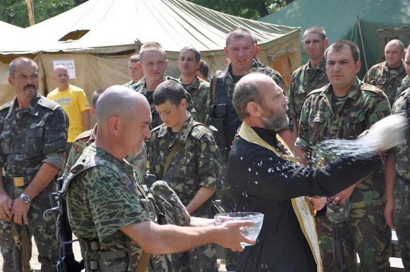 СМИ «Новороссии»:  14 батальон территориальной обороны «Черкассы» перешел на сторону ополчения.