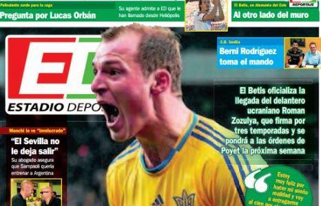 Зозуля получил от испанских СМИ новое имя из-за своей поддержки украинской армии