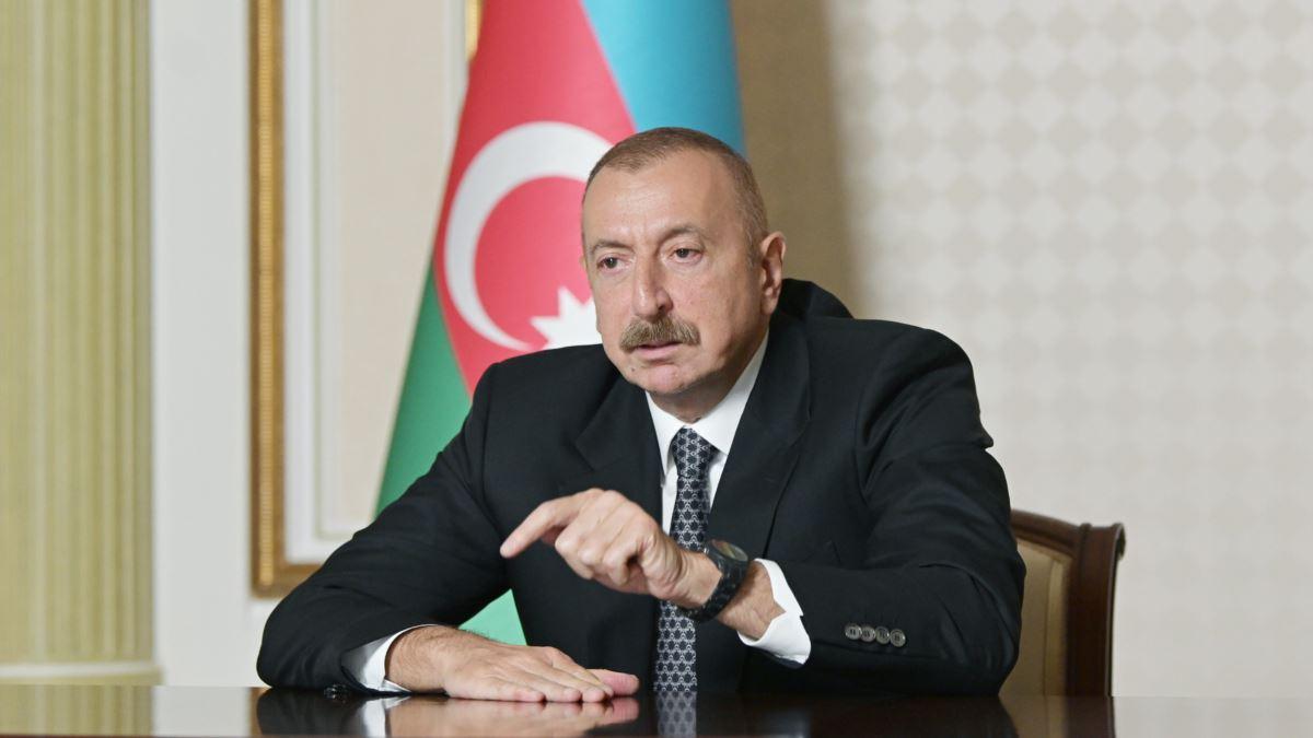 """Алиев жестко обратился к Армении: """"После переговоров в Москве, если обманут, то сами пожалеют"""""""