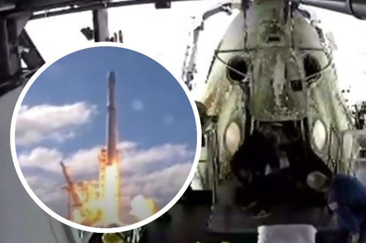 Crew Dragon с астронавтами Дагом Херли и Бобом Бенкеном успешно вернулся на Землю