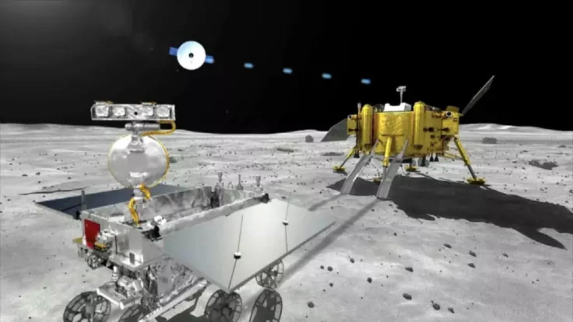 Впервые в истории человечества космическая техника села на неизведанную сторону Луны – кадры