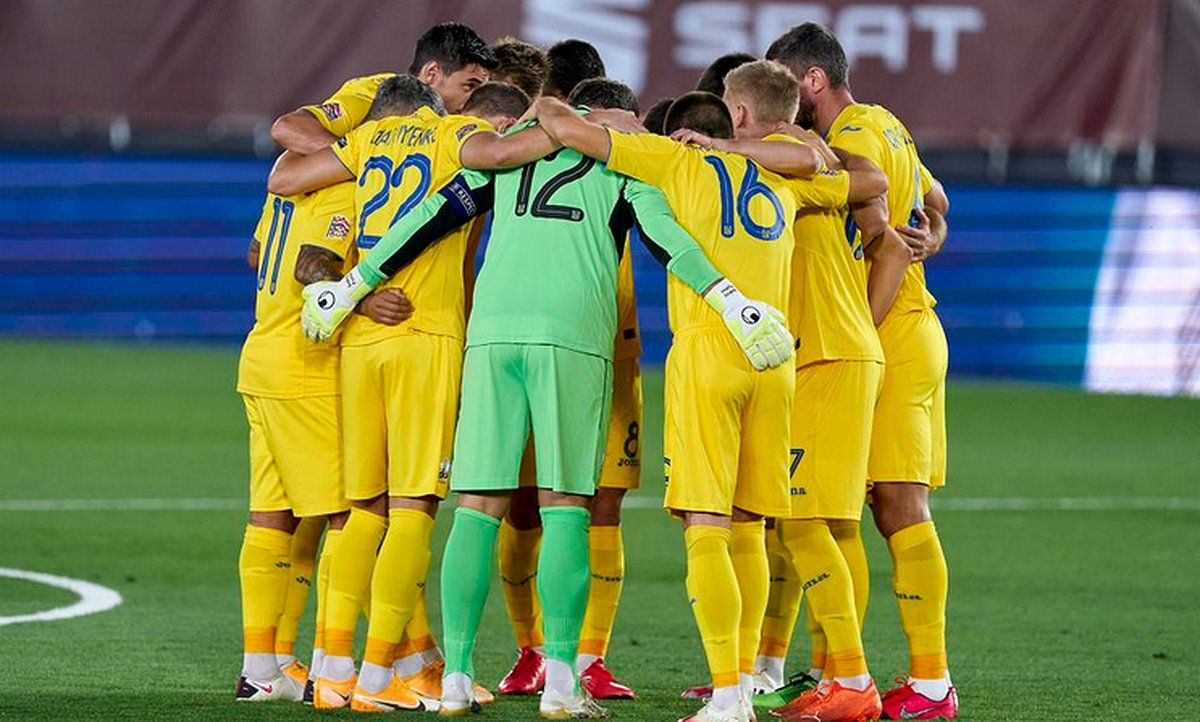 Фото последних приготовлений сборной Украины перед боем с Нидерландами на Евро