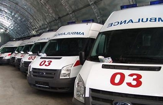 Горсовет: в Донецке заканчивается топливо для «скорых»