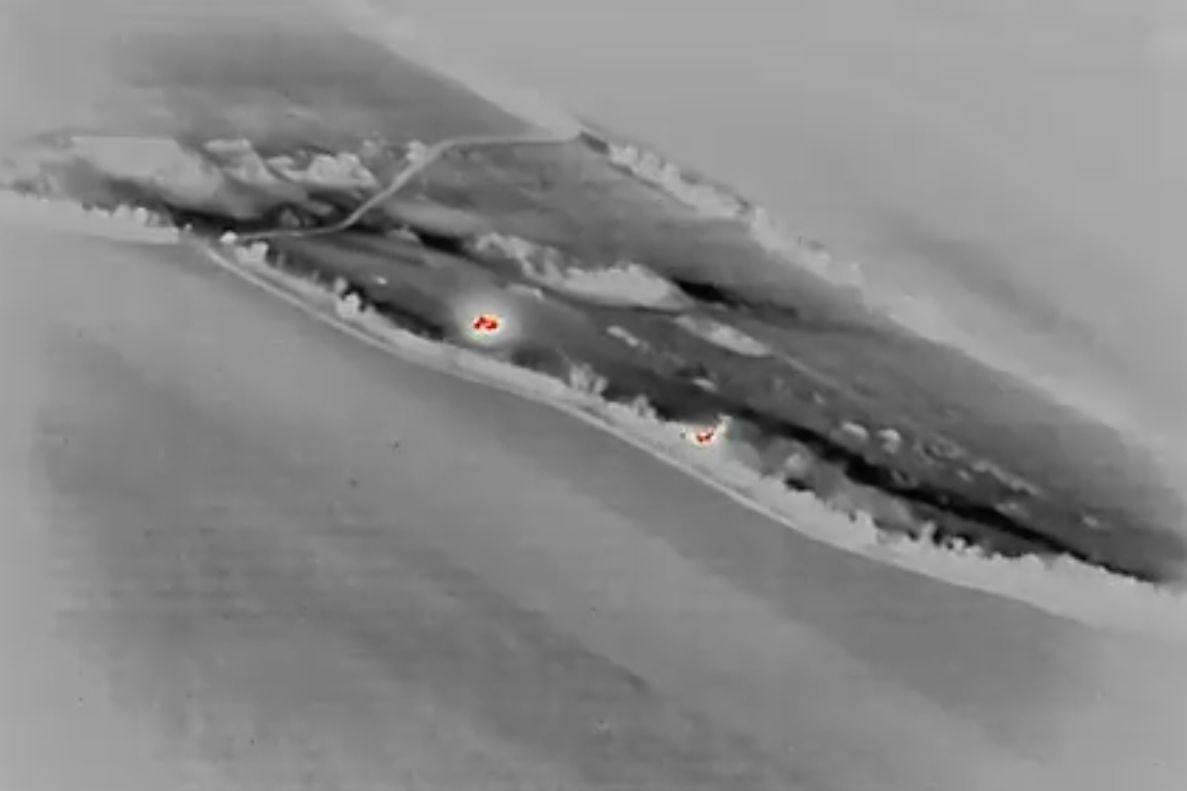 ВСУ серией ударов разбили ночью позицию армии РФ на Донбассе: массированный обстрел попал на видео