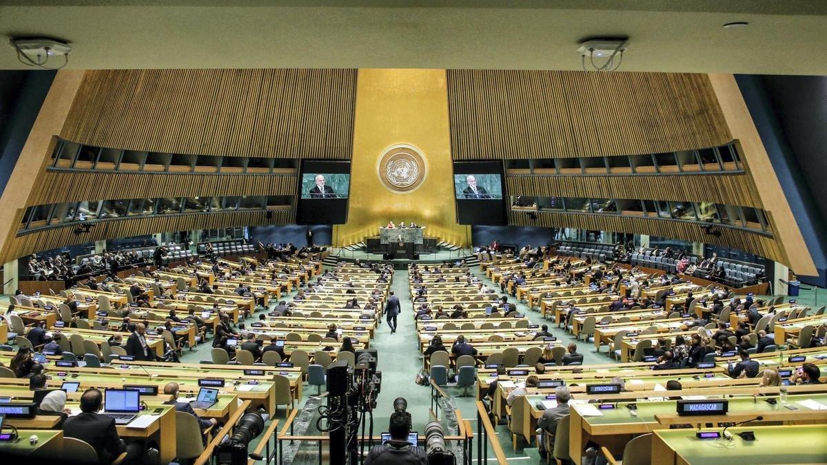 Украина и ряд стран Европы заблокировали очередную резолюцию России в ООН