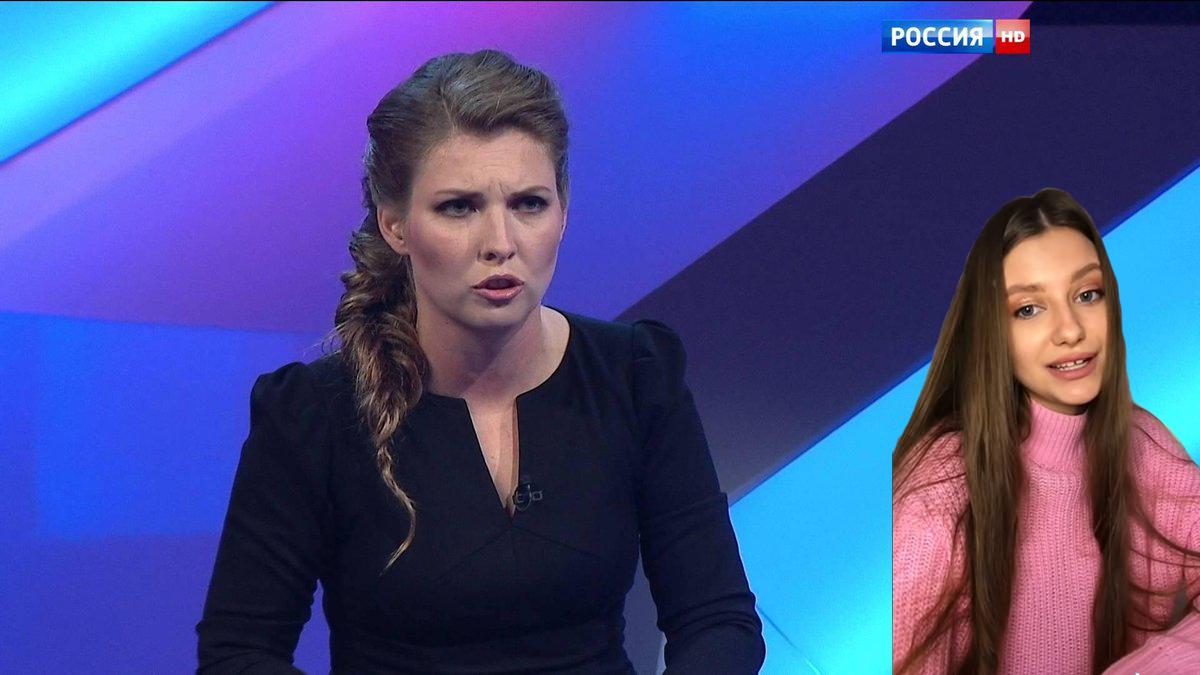"""Живущая в США красотка из России """"ответила"""" Скабеевой, поразив миллионы людей, видео"""