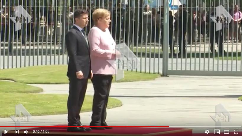 Германия, Меркель , МИД, Зеленский,видео стало плохо
