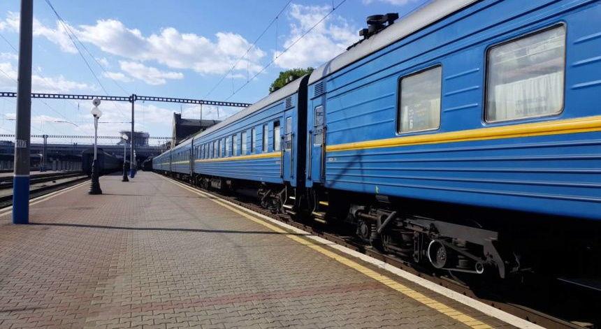 Под Тернополем сошел с рельсов пассажирский поезд Киев – Рахов: жертв удалось избежать