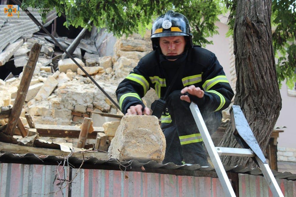 В Одессе обрушился жилой дом, есть жертвы