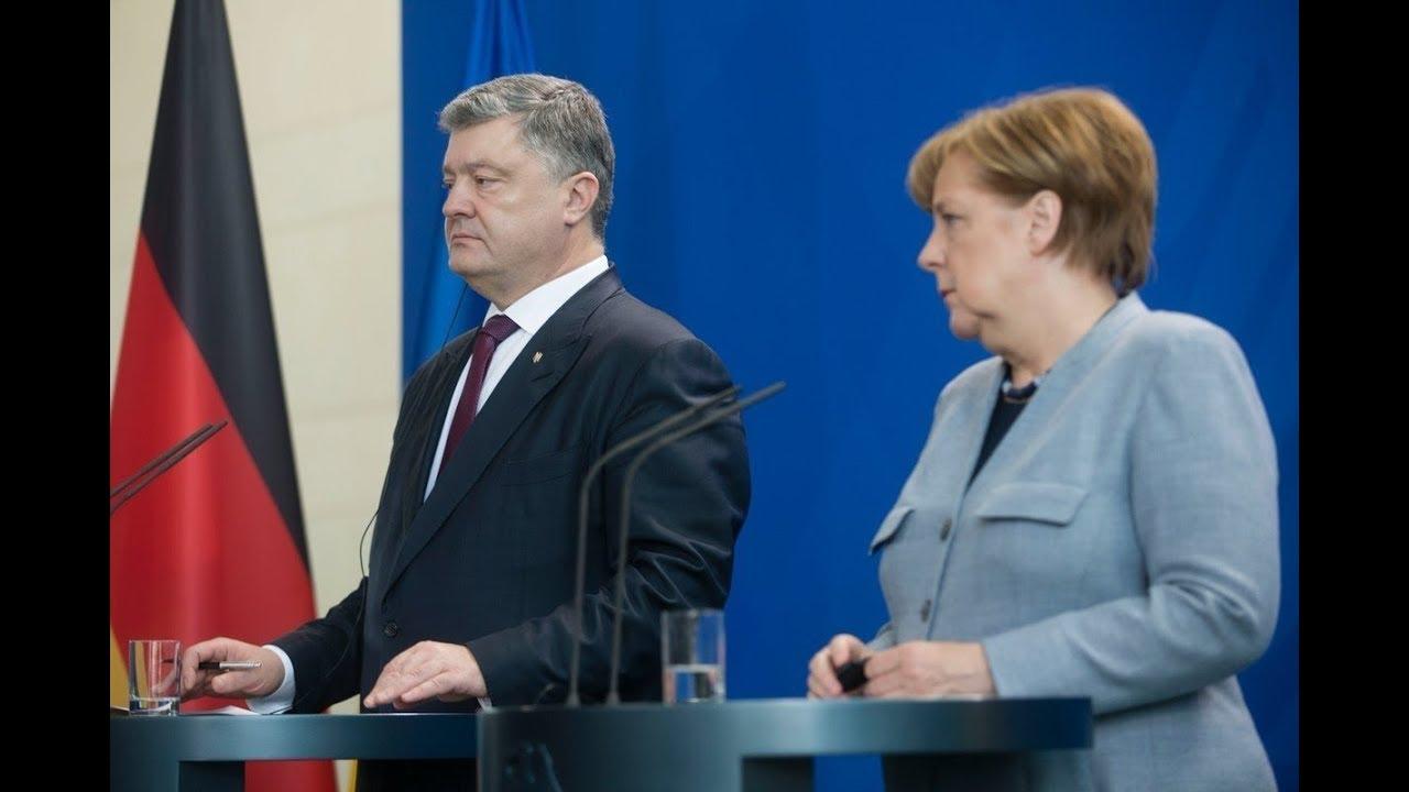 Украине нужен мир: Порошенко на встрече с Меркель сделал громкое заявление в адрес Кремля