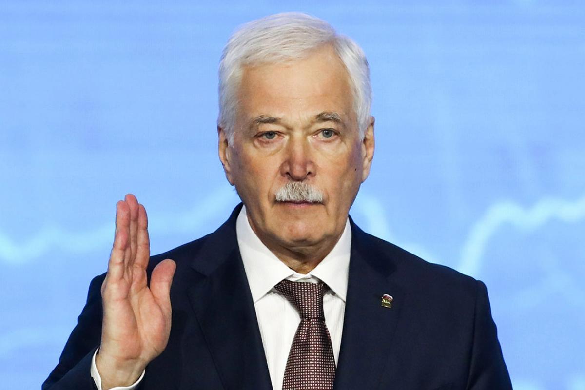"""Грызлов, отсутствовавший на минских переговорах, обвинил Киев: """"Не проявили желания"""""""