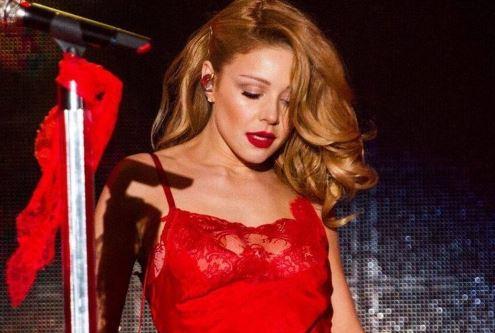 тина кароль, шоу-бизнес, фото, соцсети, певица, красное, платье