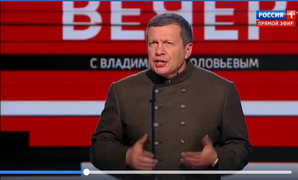 Соловьева начало трясти в прямом эфире после видео Янины Соколовой - кадры