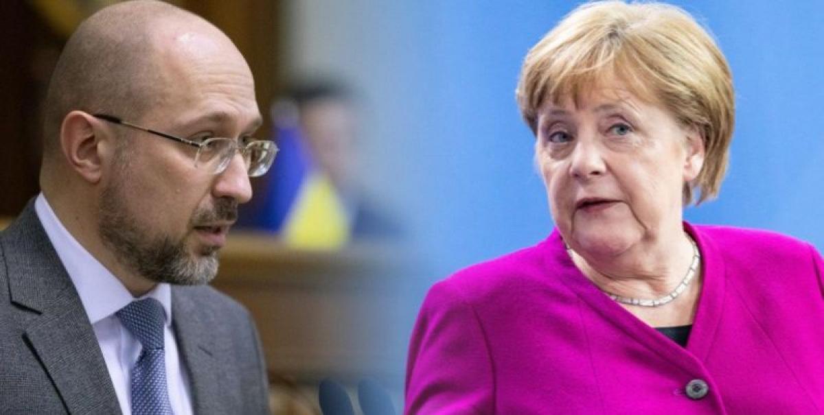 """Виртуальный """"визит"""" Шмыгаля в Германию не состоялся: у Меркель возникли проблемы"""