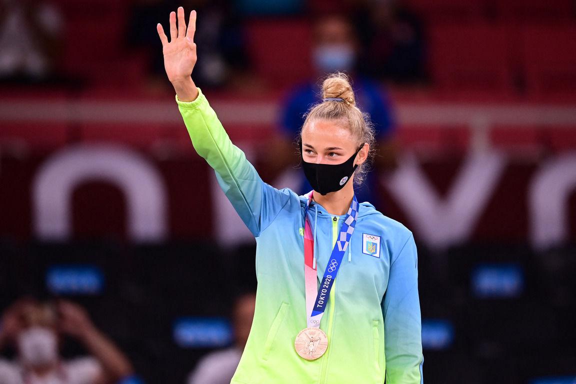 Бронзовую призерку Олимпиады в Токио Билодид лично поздравил Зеленский