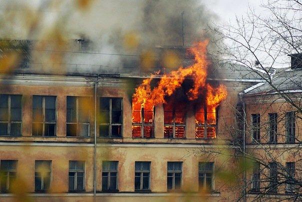 В Ивано-Франковской области загорелась школа