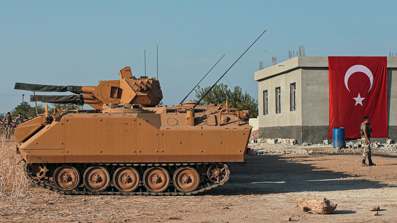Турецкие силы мощной атакой выбили из Нейраба армию Асада и Путина, ситуация переходит в полномасштабную войну