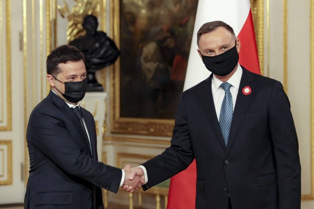 Помощь Украине при вступлении в ЕС и в НАТО: о чем договорился Зеленский во время визита в Польшу