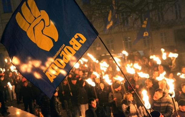 В Одессе проходит факельное шествие, несмотря на его отмену
