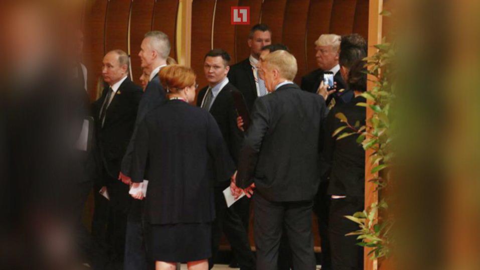 Путин с испуганным лицом убегает от Трампа: в Сети появились эксклюзивные кадры, как главы двух государств впервые пересеклись в кулуарах саммита G20
