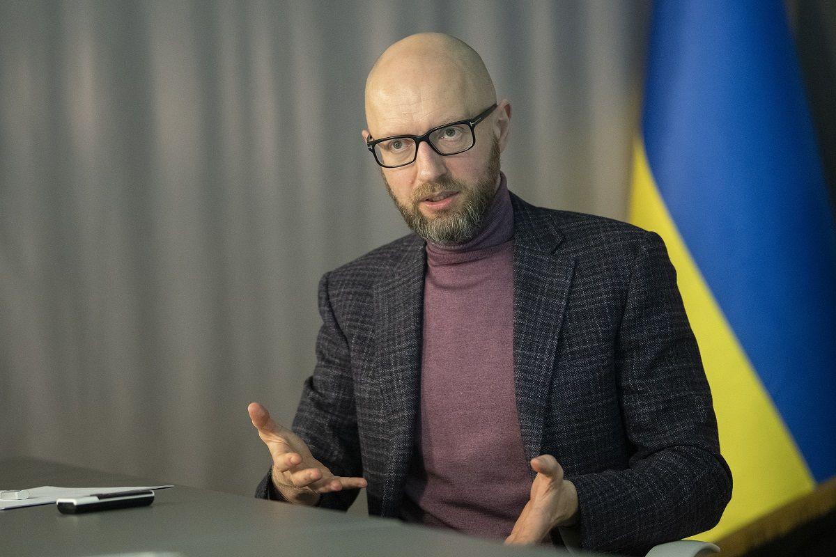 """""""Зло живет в Кремле"""", - Яценюк обратился к Путину по поводу темы вступления Украины в НАТО"""