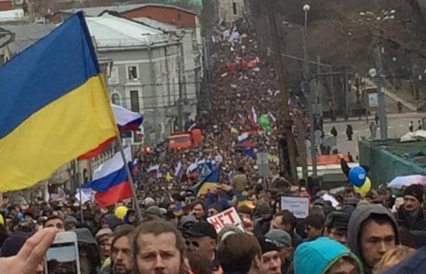 В Москве начались антивоенные митинги