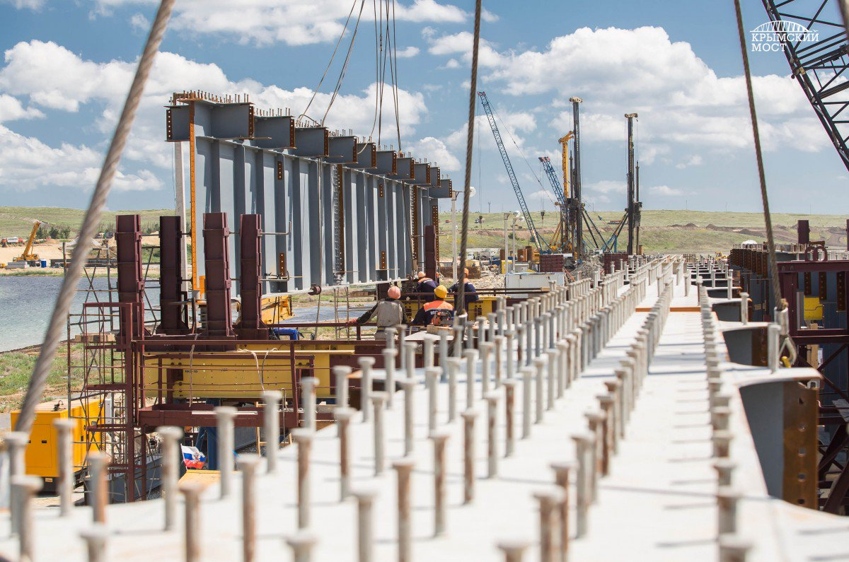 """""""Пресловутый Керченский мост может рухнуть еще до окончания строительства. Первая ласточка уже есть…"""" – Злой Одессит"""