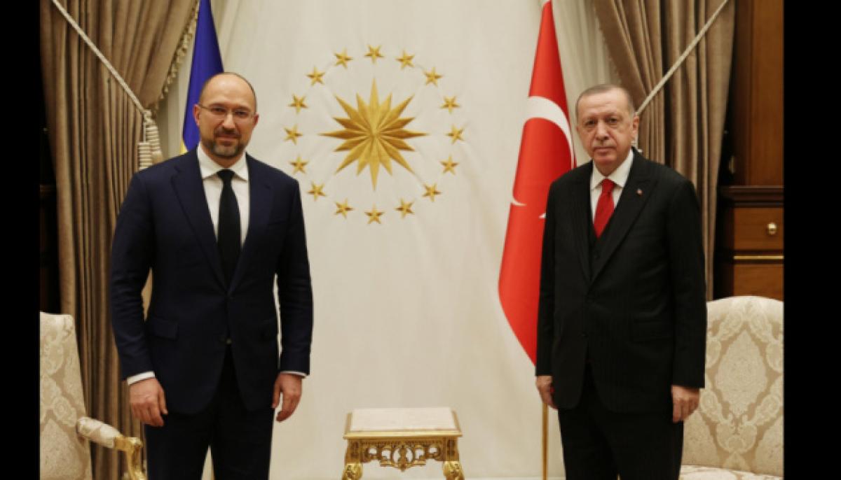 Шмыгаль после встречи с Эрдоганом заявил о важных договоренностях между Украиной и Турцией