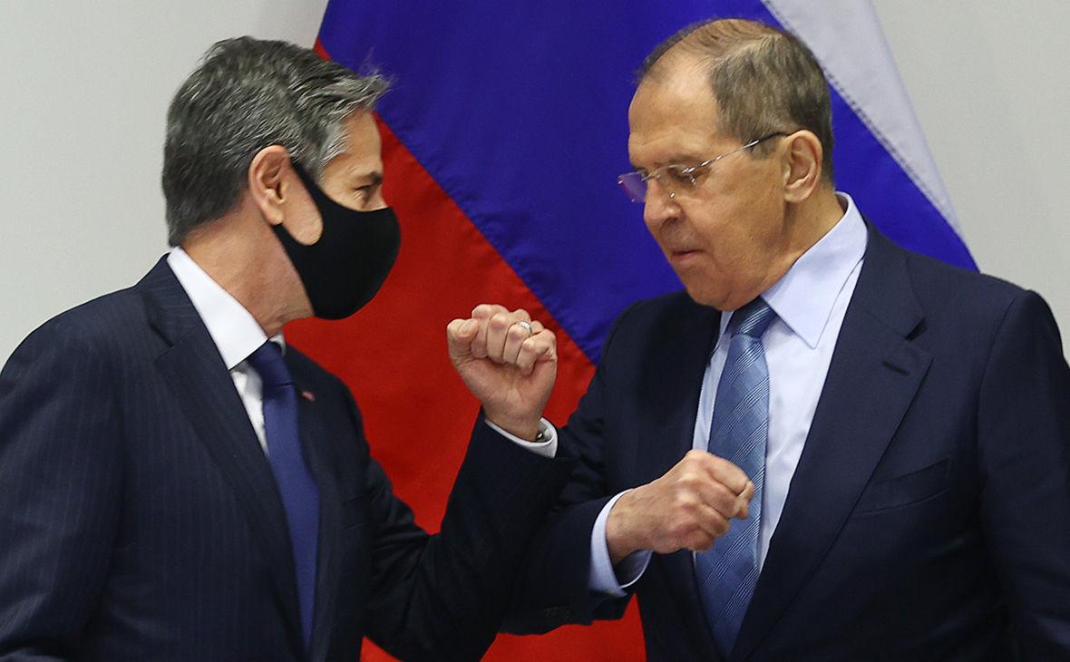 Встреча Блинкена с Лавровым: Госдеп пояснил, что обсудили стороны