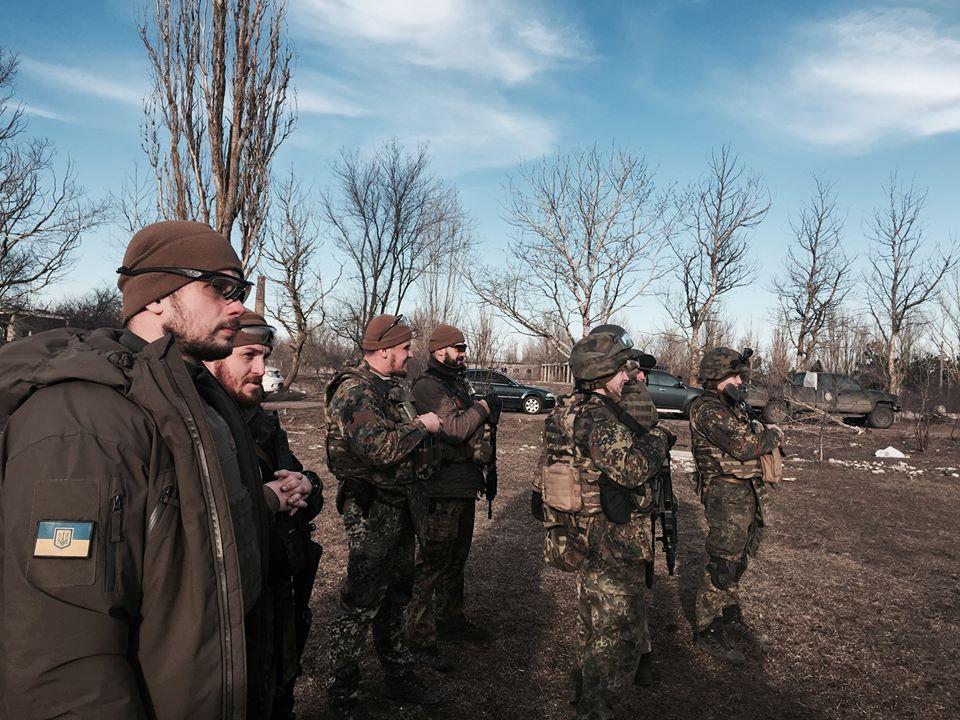 В боях под Широкино силы АТО уничтожили зенитную установку боевиков, - МВД