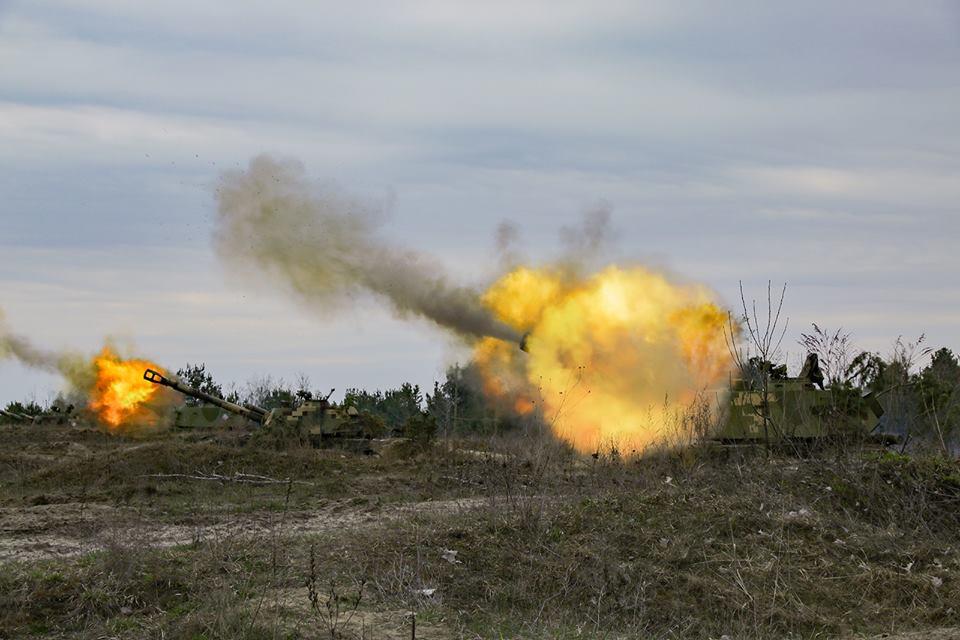 всу, оос, война, донбасс, артиллерия, днр, лнр, бои