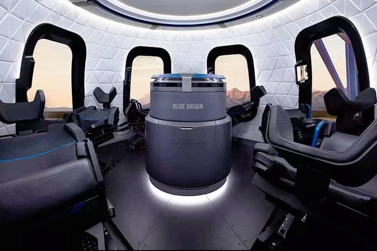 Blue Origin впервые запустит ракету New Shepard с людьми на борту уже в июле этого года