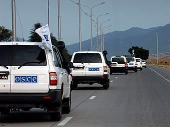 Сегодня наблюдатели ОБСЕ представят первый доклад о положении дел на российско-украинской границе