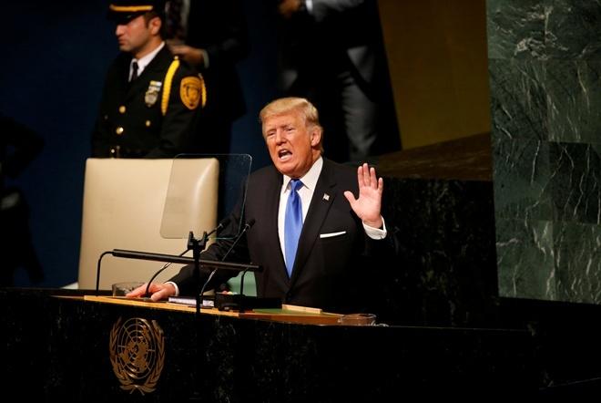 """""""Мы очень много терпим, но у нас нет выбора, как полностью уничтожить КНДР"""", - Трамп на весь мир пригрозил режиму Ким Чен Ына расправой. Кадры"""